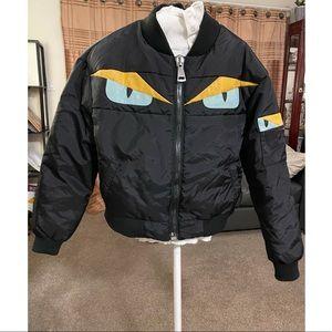 Fendi Monster Eyes Bomber Jacket